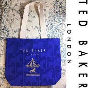 New Ted Baker Tote bag, embossed and printed